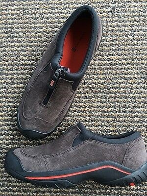 LANDS END LEATHER WEATHERLY Womens Size 8