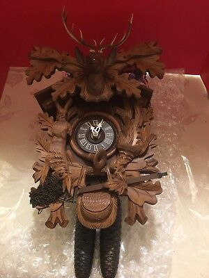 Black Forest New Coco Clock Made In Germany