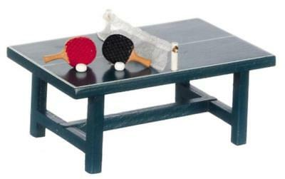 Dolls House Miniature 1:24th Scale Table Tennis Set