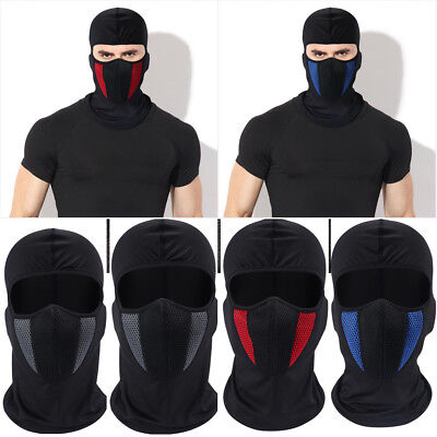Outdoor Windproof Ski Motorcycle Cycling Balaclava Full Face Mask Neck Scarf