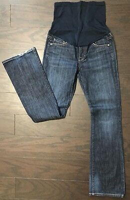 Citizens Of Humanity Pea In The Pod Dark Wash Ingrid Bootcut Maternity Jeans 25