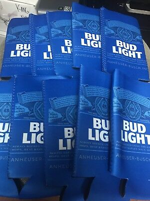 10 Bud Light  25 oz Beer Can Koozies Coozies FREE SHIPPING!!!