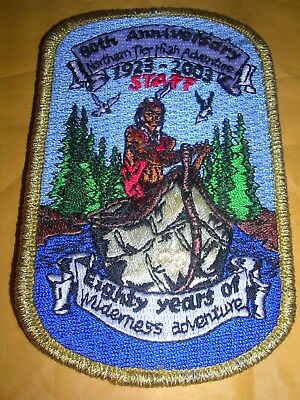 80Th Anniversary Northern Tier High Adventure 1923-2003 Patch