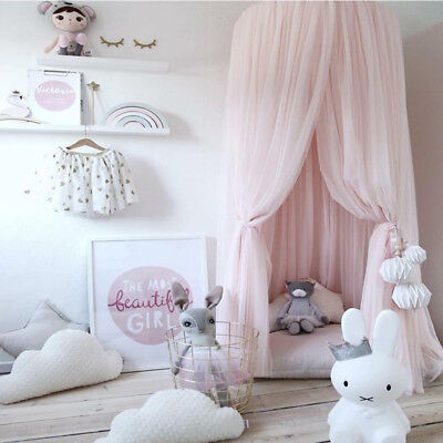 Kid Baby Bed Princess Canopy Bedcover Mosquito Netting Curtain Bedding Dome Tent