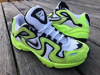 NIKE AIR PERSEUS Neon Yellow DS 7 Vintage OG $67.49   PicClick