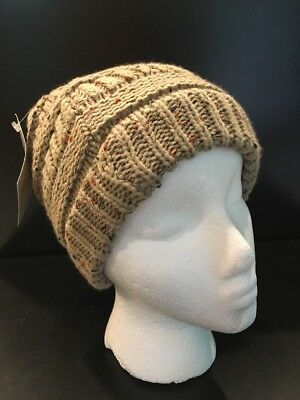 85ad229b6d7 Turban Plus Abbey Cap Knit Bown Stetchy Chemo Cap Cancer Hat For Women New  Tag