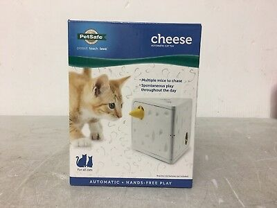 FroliCat CHEESE Automatic Cat Teaser Toy Interactive Hide & Seek