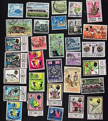 Trinidad & Tobago  - Packet of 30+   Stamps - all different -  B8002