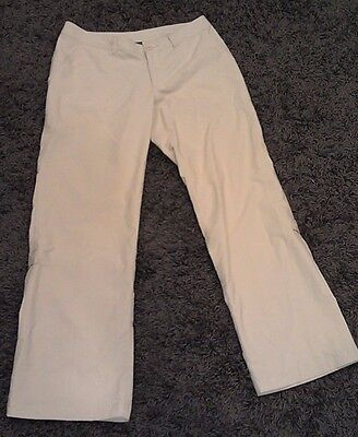 Patagonia Hiking Camping Outdoor Pants Capris Roll-Up Legs Womens 8 M Stains