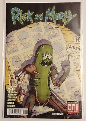Rick and Morty Issue #37 1st Variant 1st print (Bagged and boarded)