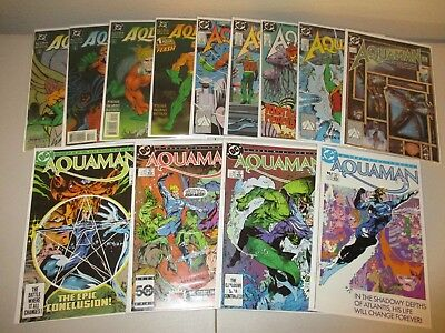 Aquaman #1-4 (1986 Series) + 1-5 (1989) + Time and Tide #1-4  (Lot of 13)  DC