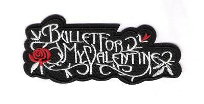 patch embroidered / écusson thermocollant Bullet For My Valentine
