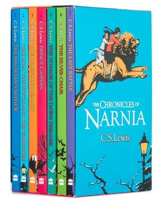 NEW The Chronicles of Narnia Complete 7 Books Collection Gift Set by C.S.Lewis