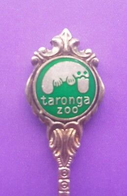 Taronga Zoo PLATYPUS Stuart EPA1 Souvenir Collector Teaspoon