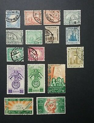 Egypt stamps mint & used