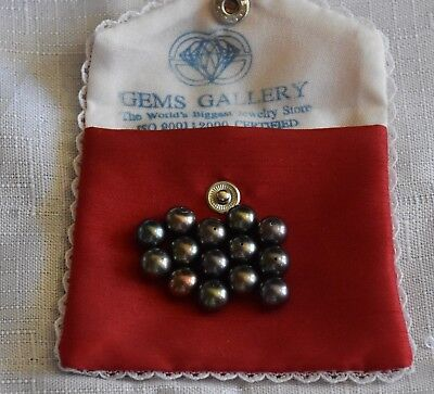 Gems Gallery Loose cultured pearls (lot of 14)