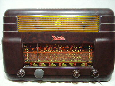 Kriesler Radio Vintage Brown Bakelite Model 11-7