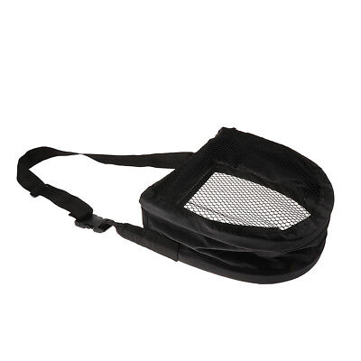 1 Piece Fishing Stripping Basket Foldable String Bag Mesh Bottom Waist Case