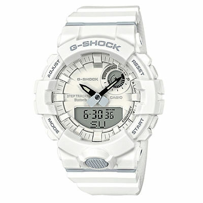 CASIO G-SHOCK G-SQUAD Bluetooth Workouts Smartphone Step-Trk Watch GBA800-7A