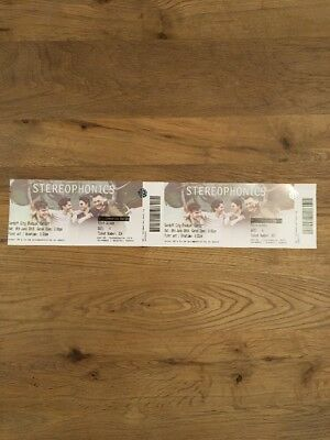 Stereophonics Tickets Cardiff Sat 9 June 2018! Memorabilia Only! Unused!