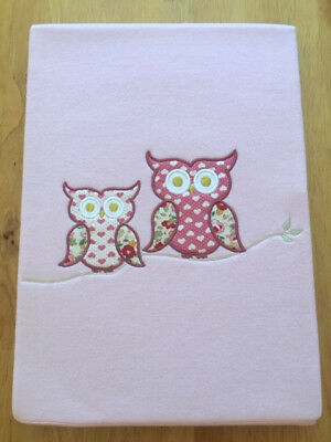 Hoot Hoot Owls Baby Blanket. Brand New! Excellent Quality. End of Line.