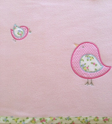 Birds Baby Blanket. Brand New! Excellent Quality. End of Line.