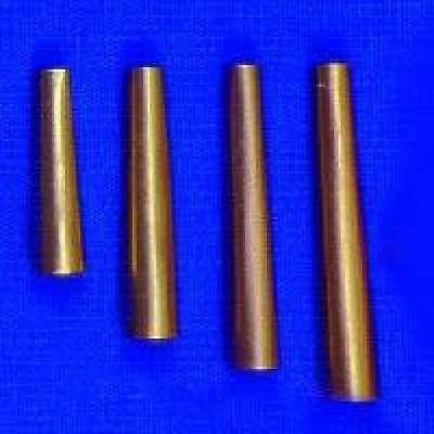 Brass Cones Metal Craft Leather Native Jewelry Regalia 3 sizes 100 pcs