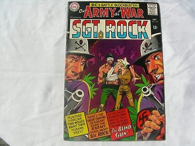 Our Army At War #159  VF- 1st Nurse Wendy Winston