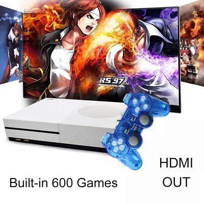 XGODY Home TV Video Game Console RS-89t 32 bit Built-in 600 Free Retro Games HD