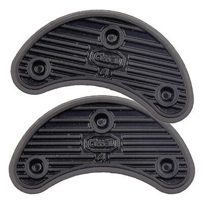 2/pack Black Rubber Glue on Shoes Soles Heel Toe Pads Shoes Repair Accessories