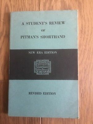 Pitman pocket shorthand dictionary new era edition 499 picclick uk a students review of pitmans shorthand new era edition revised edition 1960 fandeluxe Gallery