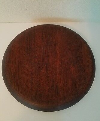 Antique Vintage Piano Stool Seat for Parts, Seat Only, Good Condition Swivel