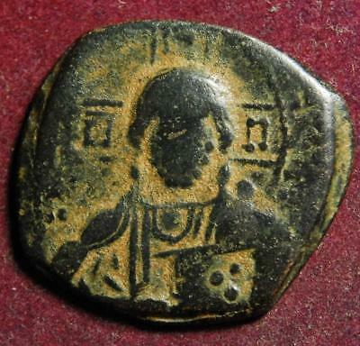 Anonymous AE follis Class A3 (attr. to Constantine VIII) c.1025-1028AD