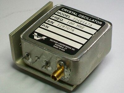 VECTRON crystal quartz efc oscillator 100 mhz time frequency standard 724Y1475