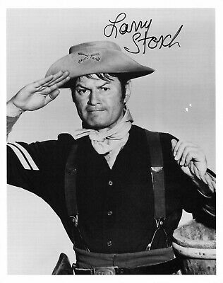 LARRY STORCH hand-signed F-TROOP 8x10 uacc rd coa AGARN CLASSIC CAVALRY SALUTE