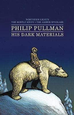 His Dark Materials Bind-up by Philip Pullman Hardcover Book Free Shipping!