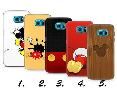 Mickey Mouse Funny Disney Cartoon Gift Plastic Gel Phone Case Cover Samsung S