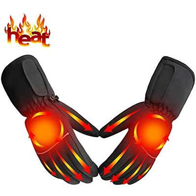 Heated Hand Warmers Gloves Battery Powered Rechargeable Heating Kit Sports