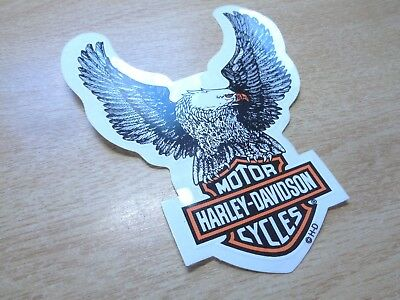 Harley Davidson Motorcycle Eagle Window Decal Factory Dealership Sticker Badge