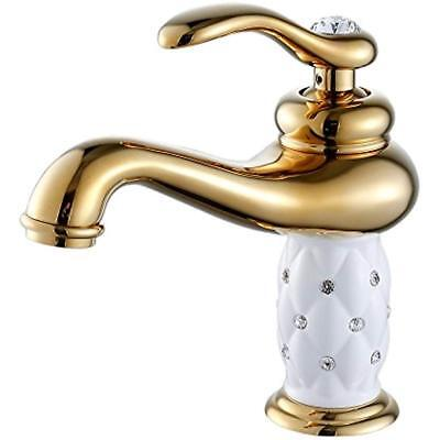 Single Touch On Faucets Handle Bathroom Sink Vessel Lavatory Vanity Mixer Tap
