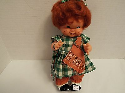 "Vtg  Goebel Charlotte Byj Trine  Rubber Doll 1957 ""Red Head""  W. Germany"