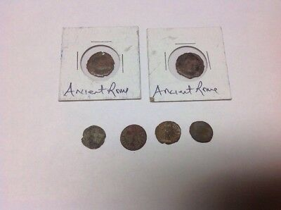Lot Of 6 Misc. Ancient Roman Coins