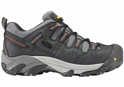 New Keen Detroit Low Mens Steel Toe Lace Up Wide Fit