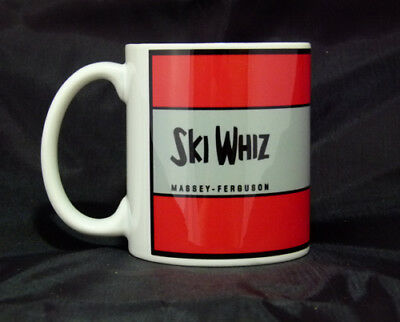 Reproduction Vintage Massey Ferguson Ski Whiz Snowmobile Logo Coffee Mug