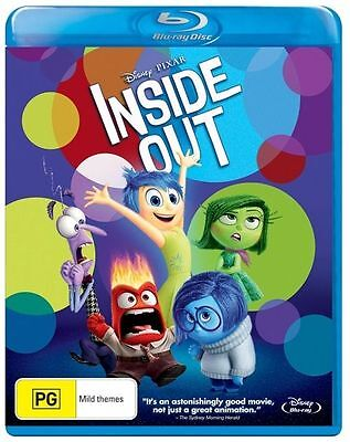 Inside Out (Blu-ray, 2015)