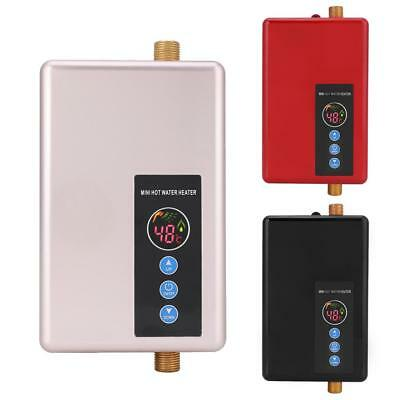 Mini 220V Instant Electric Indoor Tankless Water Heater Boiler Water Heater New