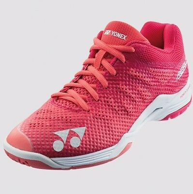 2018-19 Yonex AERUS 3 Ladies Badminton Shoes SHBA3L Rose, Power Cushion/Lightest