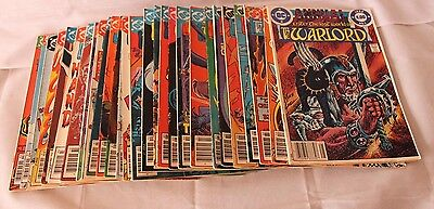 Enter the Lost World THE WARLORD Comics 1978 - 1986 Lot of 30  mIxed  Very Good