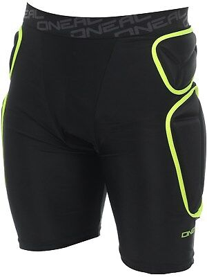 Shorts protettivi MX ONeal 2019 Trail Lime-Nero