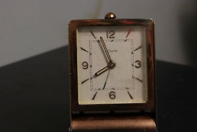 Vintage Le COULTRE LeCoultre 8 Days Travel clock
